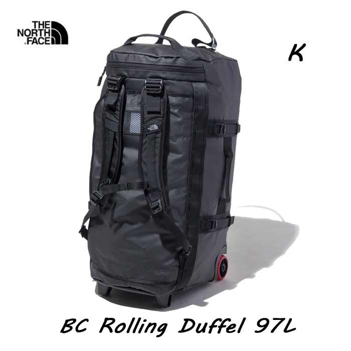 ザ ノースフェイス BCローリングダッフル 97L The North Face BC Rolling Duffel 97L NM81902 (K)ブラック