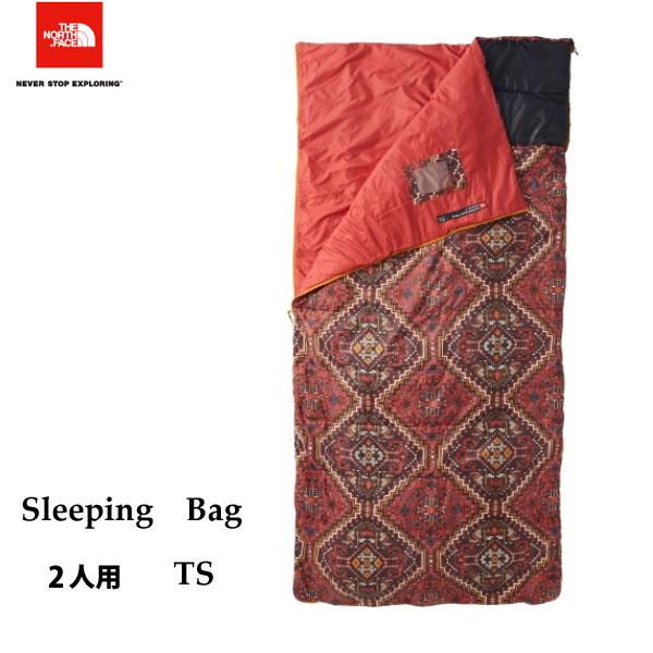 ザ ノースフェイス スリーピングバッグ The North Face Sleeping Bag NBR41606 (TS) キャンプ シュラフ 寝袋 2人用