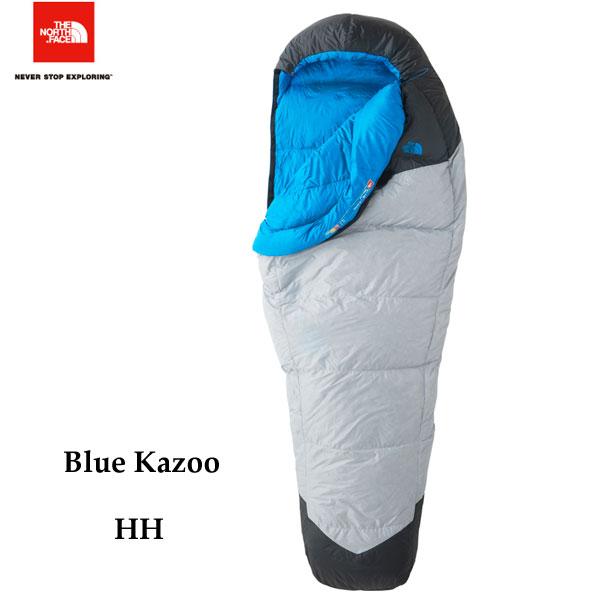 ザ ノースフェイス ブルーカズー The North Face Blue Kazoo NBR41800 (HH)ハイライズグレー×ハイパーブルー キャンプ シュラフ 寝袋