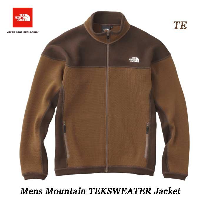 ザ ノースフェイス マウンテンテックセータージャケット(メンズ) The North Face Mens Mountain TEKSWEATER Jacket NT61808(TE)チークブラウン