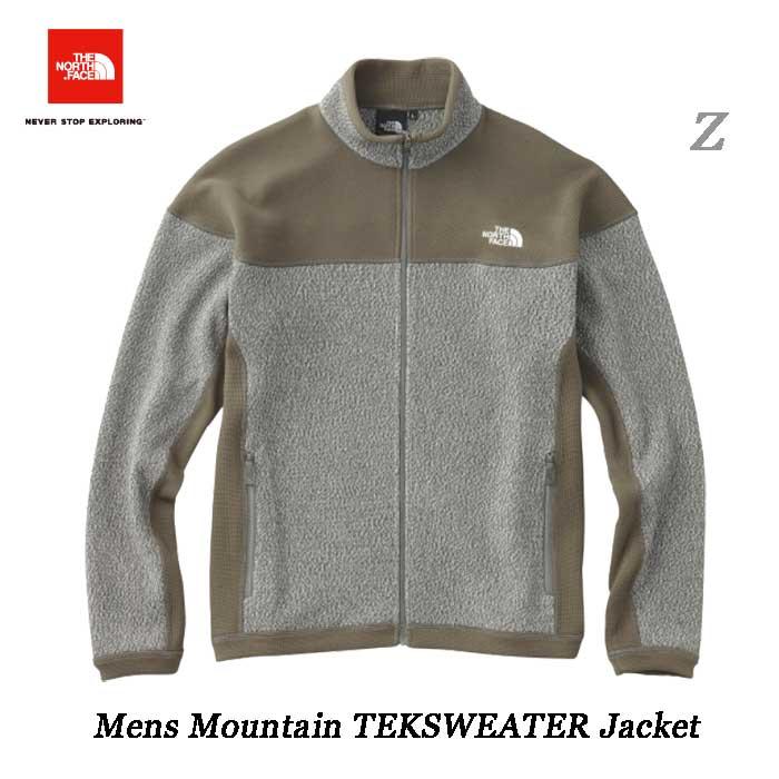 ザ ノースフェイス マウンテンテックセータージャケット(メンズ) The North Face Mens Mountain TEKSWEATER Jacket NT61808(Z)ミックスグレー