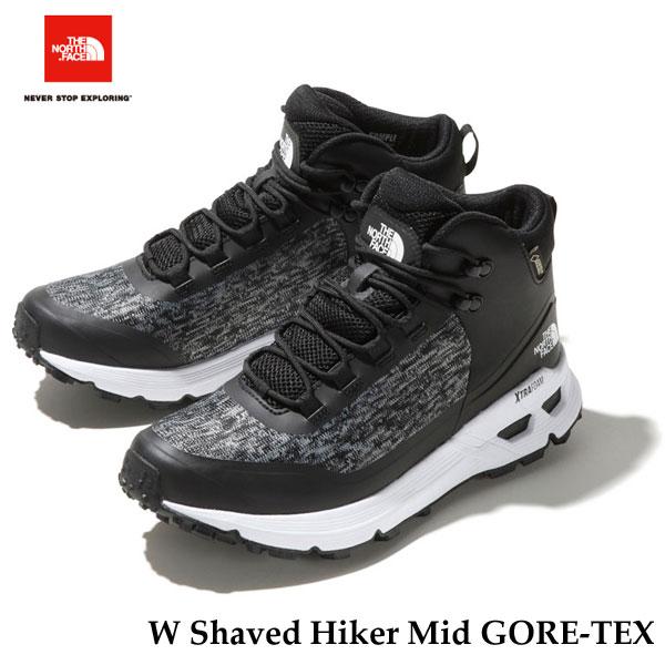 ザ ノースフェイス NFW51930 KW シェイブドゥハイカーミッドGORE-TEX(レディース) The North Face W Shaved Hiker Mid GORE-TEX (KW)TNFブラック×TNFホワイト TNF Black/TNF White