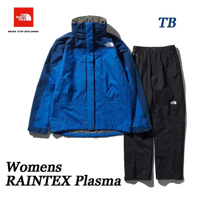 ザ ノースフェイス NPW11700 (TB) レインテックスプラズマ(レディース)GORE-TEX 3層構造の防水透湿シェル The North Face RAINTEX Plasma NPW11700 (TB)ターキッシュブルー×ブルーリボン