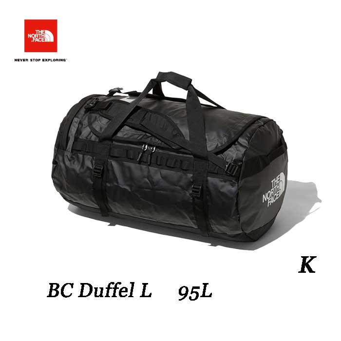 ザ ノースフェイス BCダッフル L 95L The North Face BC Duffel L 95L NM81813 (K)ブラック
