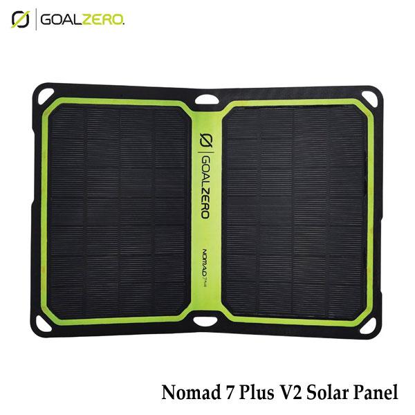 ゴールゼロ 11806 ノマド 7 プラス V2 ソーラーパネル GOALZERO NOMAD 7 PLUS V2 SOLAR PANEL 小型・軽量で折りたたみ可能な高出力ソーラーパネル キャンプ アウトドア 非常用
