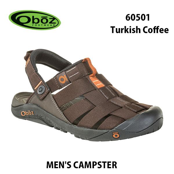 オボズ 60501 ターキッシュ コーヒー メンズ キャンプスター Oboz MEN'S CAMPSTER Turkish Coffee靴 サンダル アウトドア