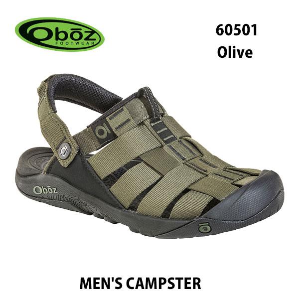 オボズ 60501 オリーブ メンズ キャンプスター Oboz MEN'S CAMPSTER Olive靴 サンダル アウトドア