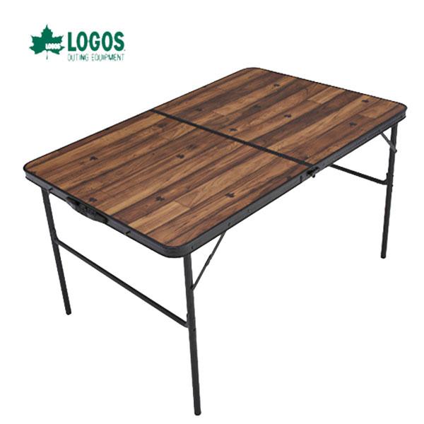 ロゴス 73188006 ディナーテーブル 12080 ロゴス キャンプ フェス バーベキュー アウトドア テーブル 奥行き80cm ゆったり使えるダイニングテーブル