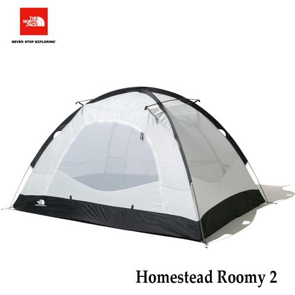 ザ ノースフェイス NV21605 NT ホームステッドルーミー2  The North Face Homestead Roomy 2  (NT) ニュートープグリーン キャンプ テント 2人用