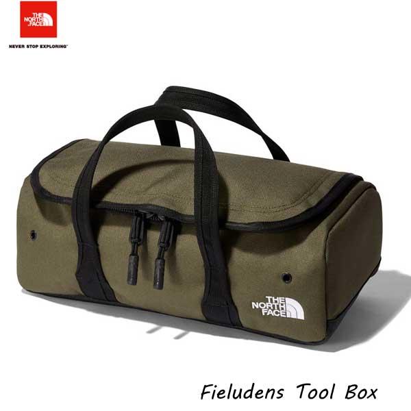 2021年最新在庫 GOLDWIN供給の日本正規商品です ザ ノースフェイス NM82013 NT フィルデンス ツールボックス 本物 ニュートープグリーン The バッグ アウトドア Face 正規品 Box Fieludens North 収納ケース Tool バーベキュー キャンプ