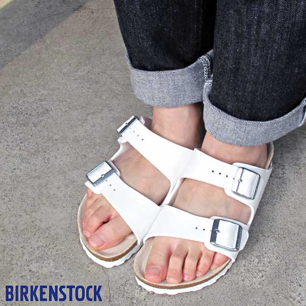 78d543d6fae369 Birkenstock for Arizona white white Birkenstock Arizona White Birko-Flor  sandal made in Germany Wilco flow Cork Sandals ladies vilken 051733 051731  regular ...