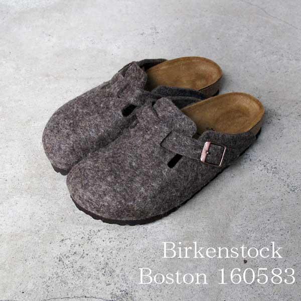 ビルケンシュトック ボストン ココア フェルト Birkenstock Boston Cocoa Felt sandal   レディース クロッグ  160583