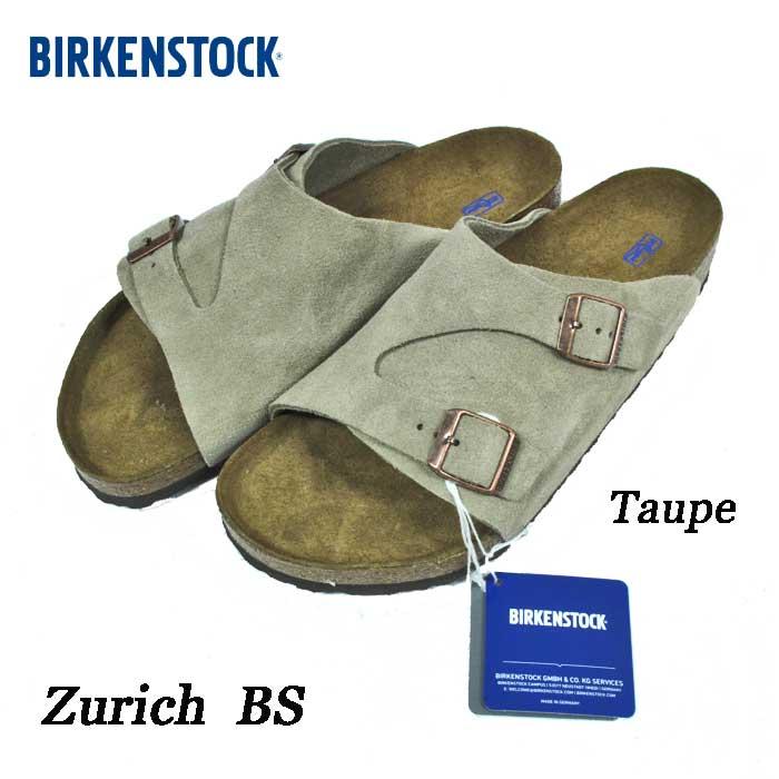 ビルケンシュトック チューリッヒ BS トープ ソフトフットベッド クロッグ  Birkenstock Zurich BS Taupe Softfootbed 1009532 正規輸入品証明書つき