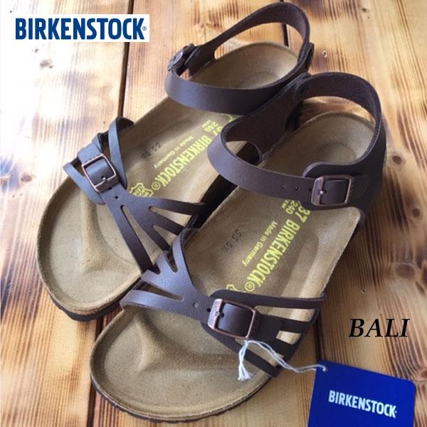 ビルケンシュトック あす楽対応 バリ ダークブラウン Birkenstock BALI dark brown sandal made in Germany コルク サンダル ビルケン  0085063 正規輸入品証明書つき
