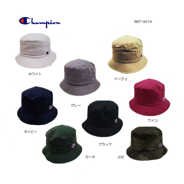 Champion for bucket Hat 587-001A white grey beige wine khaki Navy Black  Duck Champion BUCKET HAT 8color classic Hat Hat unisex UV ffd4b7a8c89