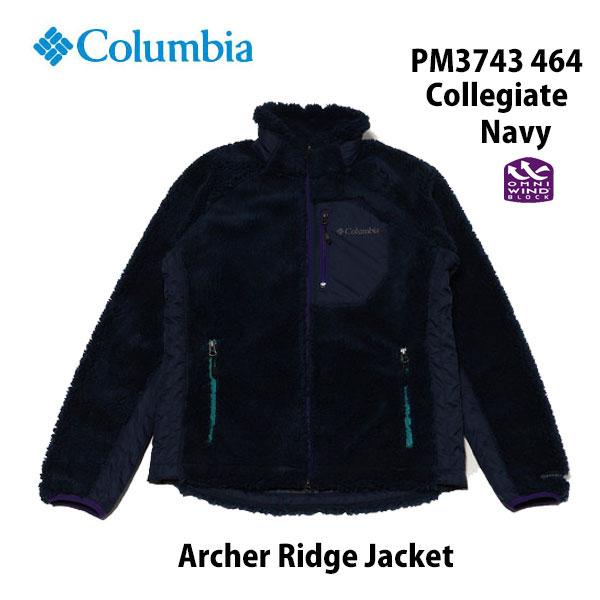 コロンビア アーチャーリッジジャケット PM3743 464 カレッジエイト ネイビー Columbia Archer Ridge Jacket Collegiate Navy メンズ アウトドア キャンプ タウンユース フリース 防風・防寒着