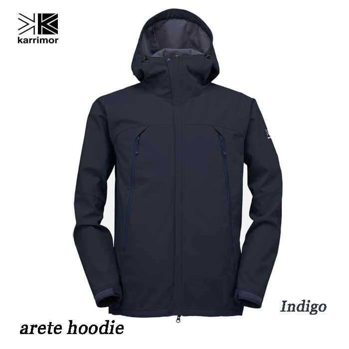 カリマー アリート フーディー(メンズ) Karrimor arete hoodie Indigo(SLV)