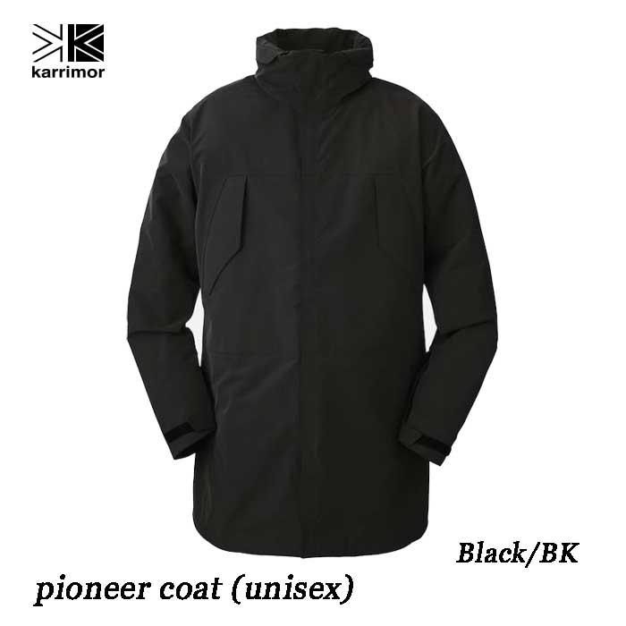 カリマー パイオニア コート(ユニセックス) Karrimor pioneer coat (unisex) Black/BK