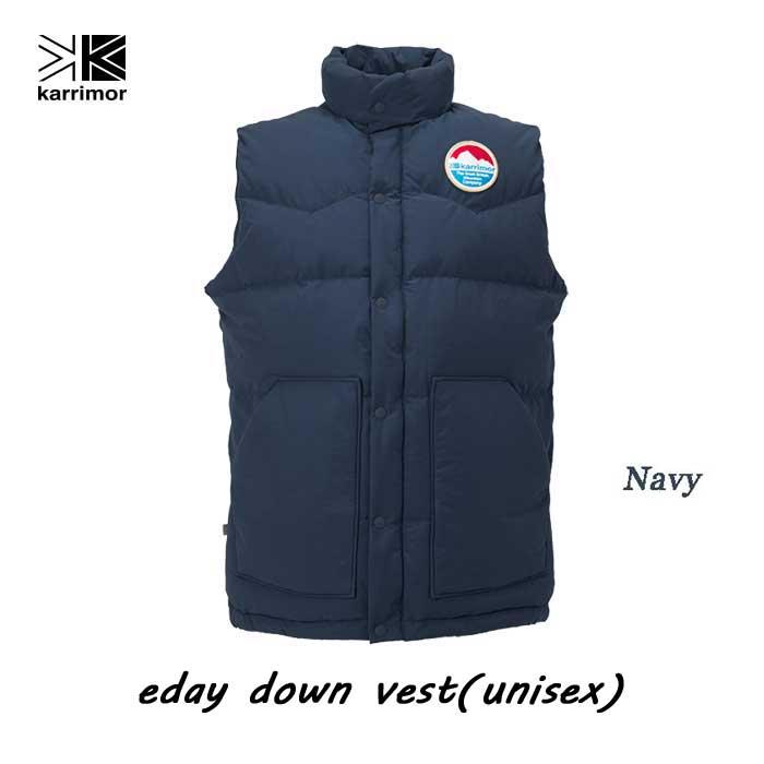 カリマー イーデイ ダウン ベスト(ユニセックス) Karrimor eday down vest (unisex) Navy