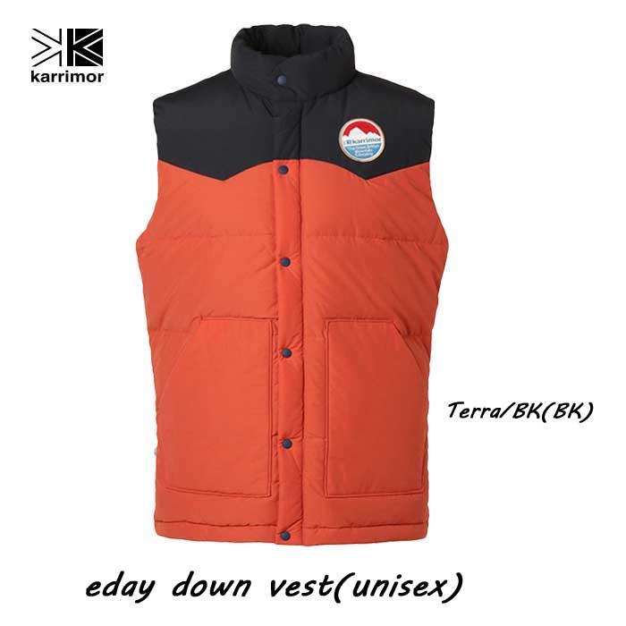 カリマー イーデイ ダウン ベスト(ユニセックス) Karrimor eday down vest (unisex) Terra/BK(BK)
