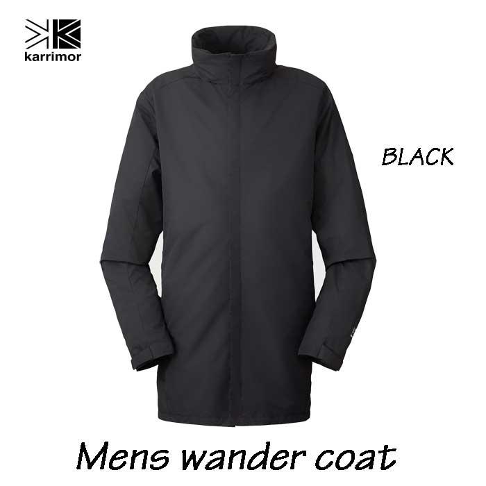 カリマー ワンダー コート (メンズ) Karrimor wander coat Black