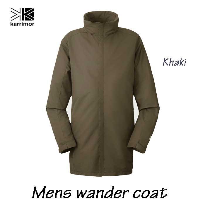 カリマー ワンダー コート (メンズ) カーキ Karrimor Mens wander coat Khaki