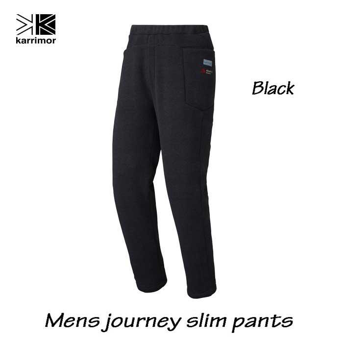 カリマー メンズ ジャーニー スリム パンツ ブラック Karrimor mens journey slim pants Black