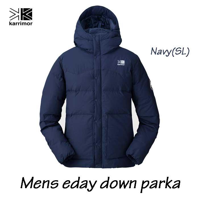 カリマー メンズ イーデー ダウン パーカー ネイビー Karrimor mens eday down parka Navy(SL)