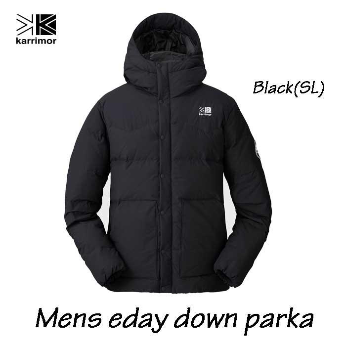 カリマー メンズ イーデー ダウン パーカー ブラック Karrimor mens eday down parka Black(SL)