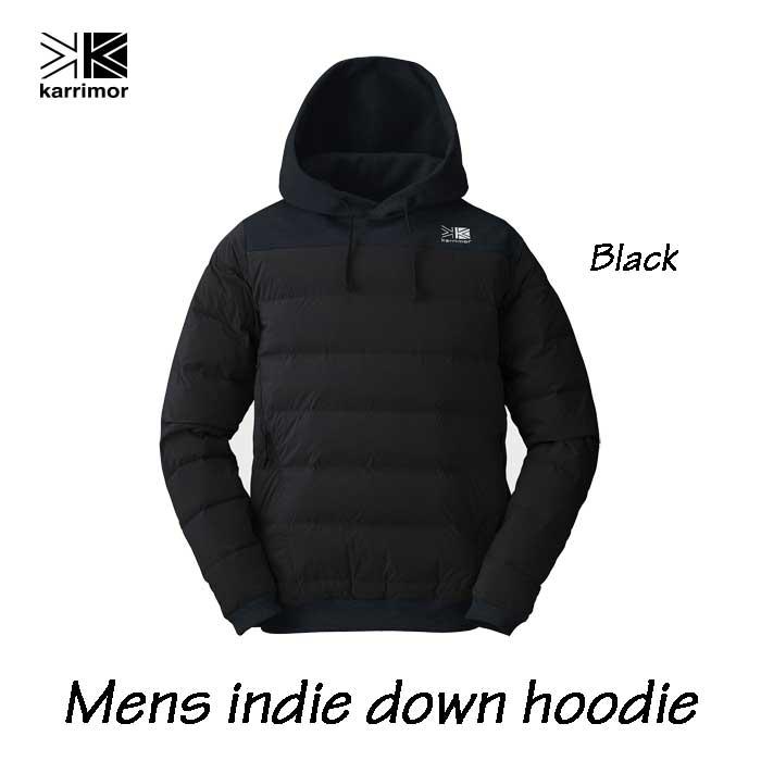 カリマー メンズ インディ ダウン フーディ ブラック Karrimor mens indie down hoodie Black