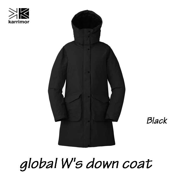 カリマー グローバル ウィメンズ ダウン コート ブラック Karrimor global W's down coat Black