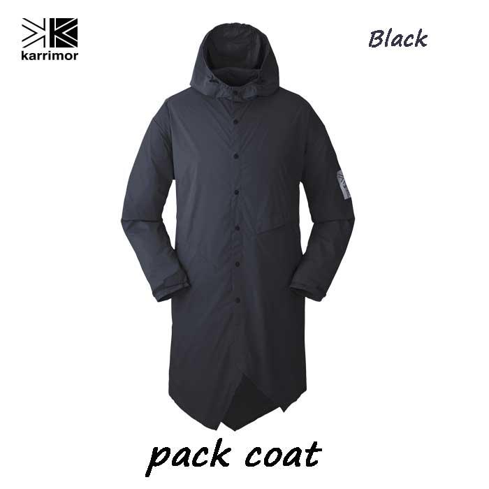 カリマー パック コート ブラック Karrimor pack coat Black