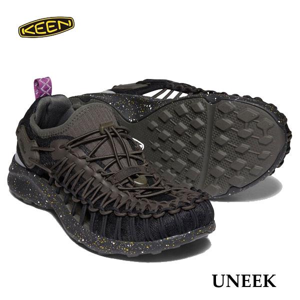 キーン 1022379 メンズ ユニーク スポーツサンダル 新色 Keen Mens UNEEK Black Spray