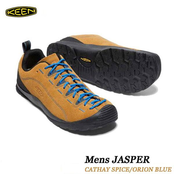 キーン 500円クーポンあり あす楽対応 ジャスパー  メンズ ジャスパー KEEN MENS JASPER 男性サイズ スニーカー アウトドア トレッキング シューズ 1002661 CATHAY SPICE ORION BLUE