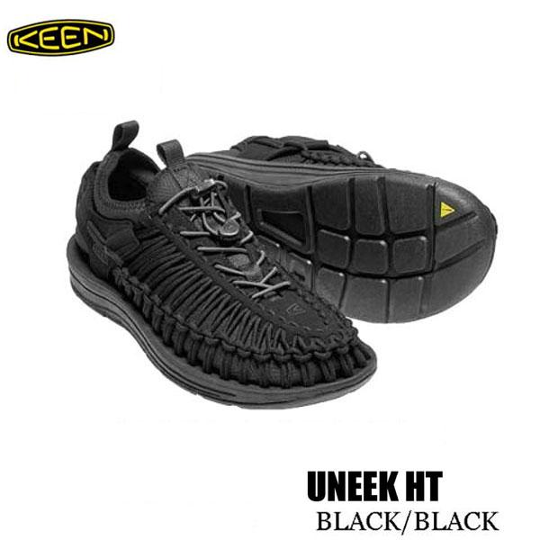 キーン 1018025 27.5cm あす楽対応  メンズ ユニーク HT スポーツサンダル Keen Mens UNEEK HT BLACK/BLACK