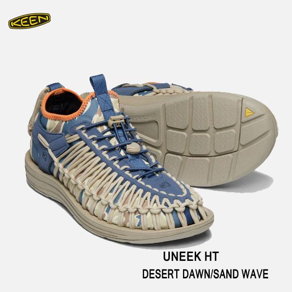 キーン 1019951 あす楽対応 メンズ ユニーク HT  スポーツスニーカー Keen Mens UNEEK HT DESERT DAWN/SAND WAVE