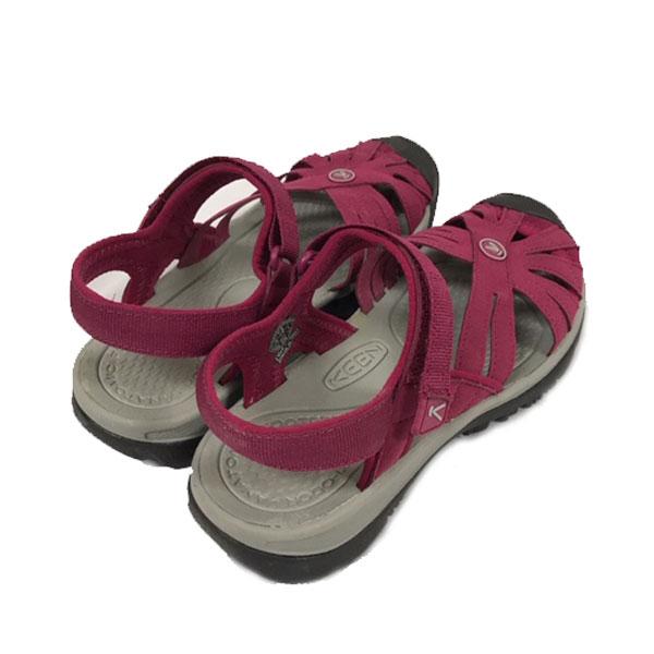 キーン あす楽対応 24.5cm ウィメンズ レディース ローズ サンダル  Keen Womens Rose Sandal  1012545 Beet Red