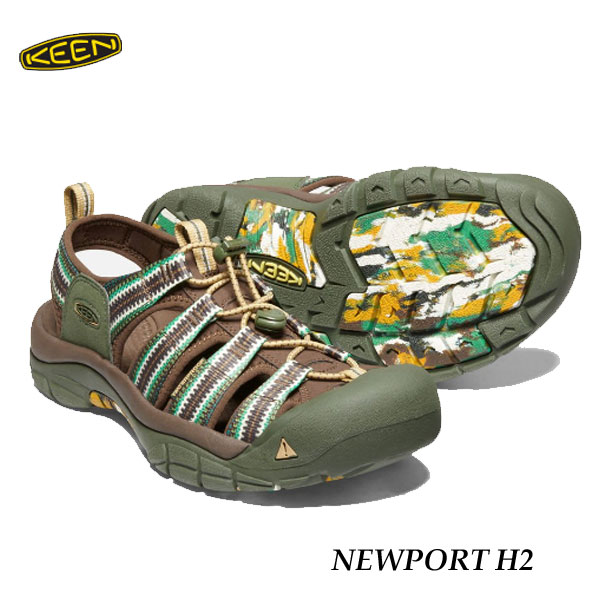 check out f5605 4e195 Correspondence 26 27 28 29cm men's Newport H two sandals comfort sandals  KEEN MENS NEWPORT H2 1020288 DYE SPIRAL 7 that there is Kean 500 yen coupon  ...