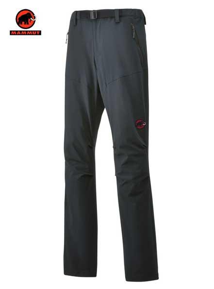 マムート ソフテック トレッカーズ 팬츠 남성용 아웃 도어 등산 소프트 쉘 바지 Mammut SOFtech TREKKERS Pants Men 1020-09760-0121 graphite