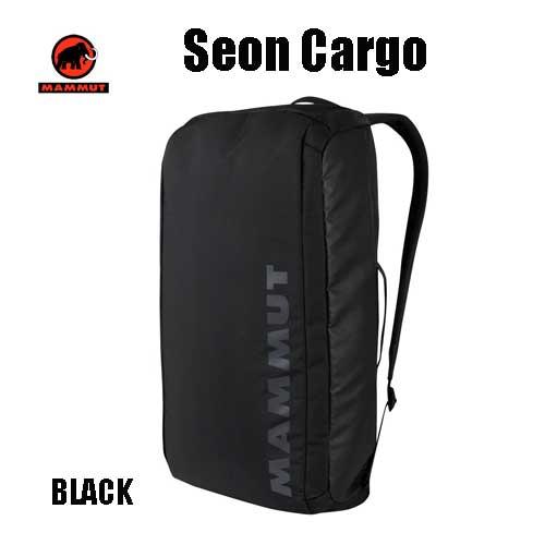 マムート セオンカーゴ 35L 通勤用バックパックリュック MAMMUT Seon CARGO 35L 2510-03850-0001 black