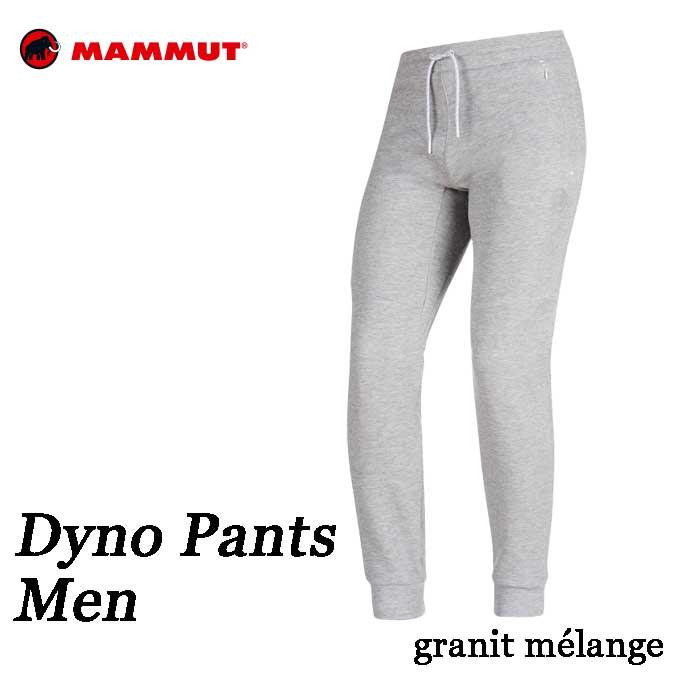 マムート あす楽対応 DYNO パンツ メンズ Mammut DYNO Tech Pants Men 1022-00390-0819 granit mélange