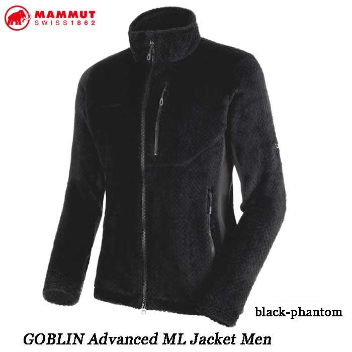 マムート 1014-22991-00189 ゴブリン アドバンス ML ジャケット メンズ MAMMUT GOBLIN Advanced ML Jacket Men black-phantom