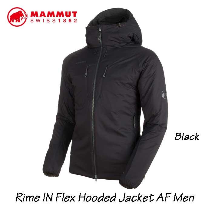 マムート 1013-00750-0001 ライム イン フレックス フーデッド ジャケット AF メンズ MAMMUT Rime IN Flex Hooded Jacket AF Men Black