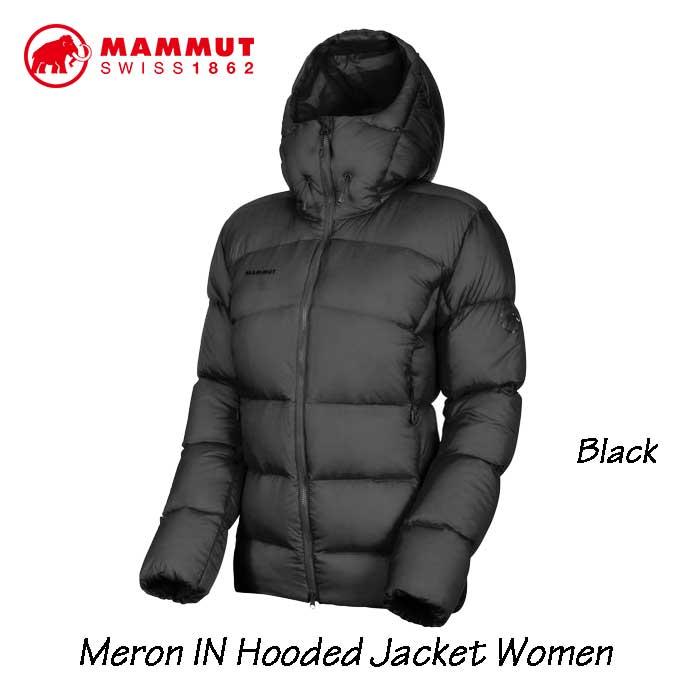 マムート 1013-01200-0001 メロン イン フーデッド ジャケット ウィメンズ Mammut Meron IN Hooded Jacket Women black