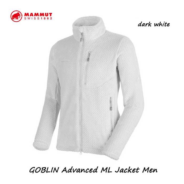 マムート 1014-22991-00317 ゴブリン アドバンス ML ジャケット メンズ MAMMUT GOBLIN Advanced ML Jacket Men dark white
