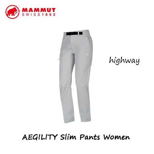 マムート 1022-00280-0400  AEGILITY スリム パンツ レディース ハイウェイ Mammut AEGILITY Slim Pants Women highway