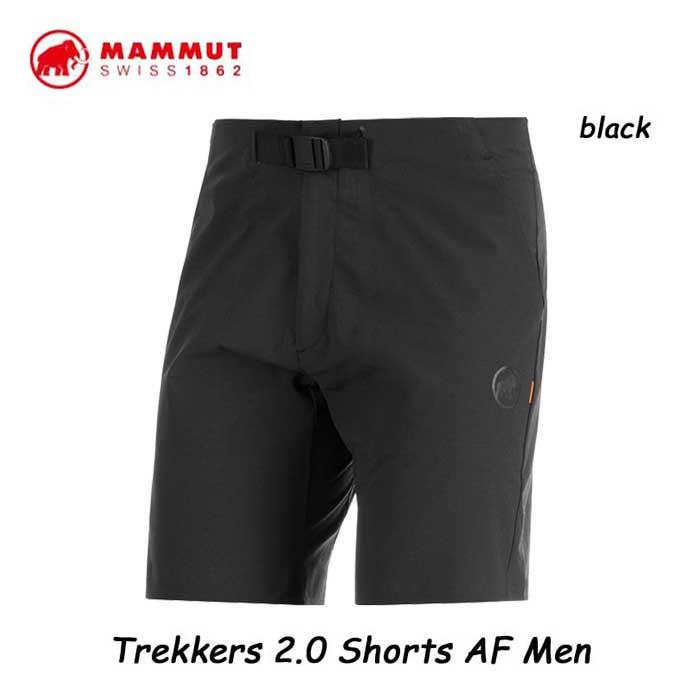 マムート 1023-00470-0001 トレッカーズ 2.0 ショーツ AF メンズ ブラック  アウトドア 登山  Mammut Trekkers 2.0 Shorts AF Men black