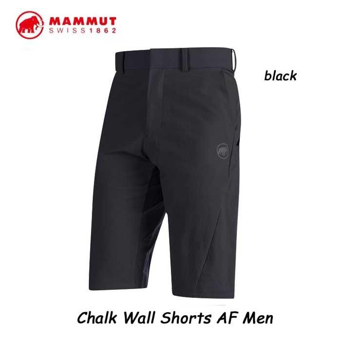 マムート 1023-00430-0001 チョーク ウォール ショーツ AF メンズ ブラック  アウトドア 登山  Mammut Chalk Wall Shorts AF Men black