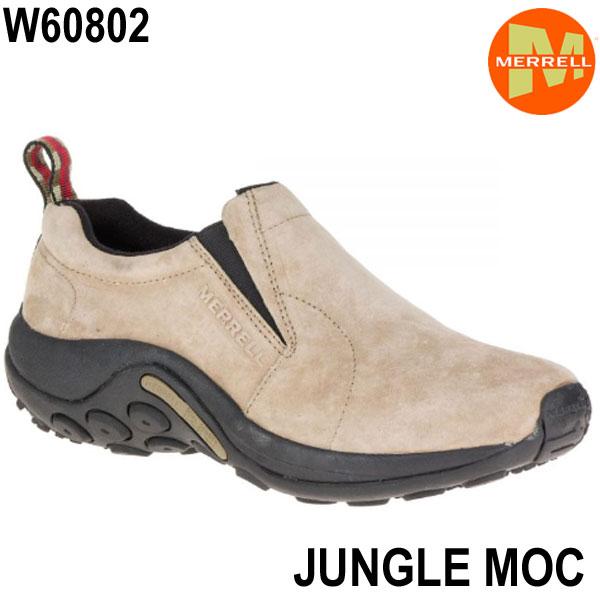 メレル ウィメンズ ジャングルモック w60802 Taupe Merrell Jungle Moc Womens レディース アウトドア スニーカー 幅2E相当