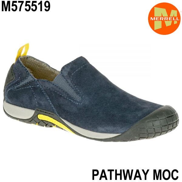 メレル メンズ パスウェイモック M575519 NAVY  メンズシューズ Merrell PATHWAY MOC Men's